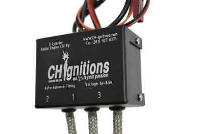 CDI - 3 Cylinder Ignition For; Saito, Kolm, In-Line Engines.