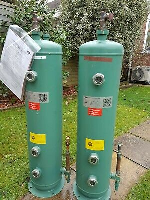 BARGAIN Bitzer liquid receivers 2 x vertical HVAC used once