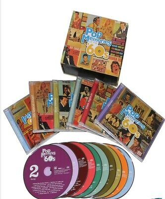 Pop Memories of the '60s Time/Life 10 CD Box Gift Set New Sealed FREE SHIPPING