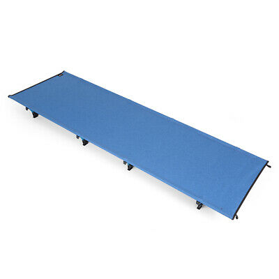 Portable Off-Ground Folding Cot Bed Outdoor Lightweight Camping Sleeping G6M3