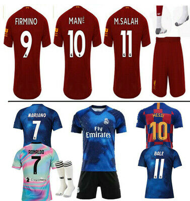 Sportswear New Youth Football Training Kit Kid Boys Soccer Jersey Strips Sportswears Outfit Kids' Clothes, Shoes & Accs.