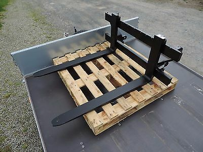 Heavy Duty Pallet Forks With Euro Brackets. New. Free Delivery To Uk.