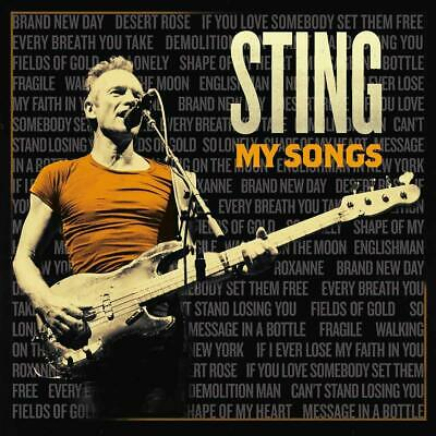 Sting My Songs Cd Deluxe Edition Nuovo Sigillato