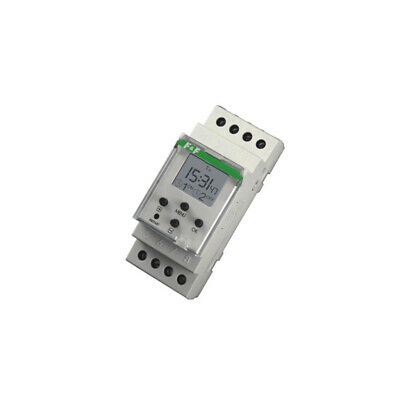 PCZ-526 Programmable time switch Range1 year DPDT 24÷264VAC DIN F AND F