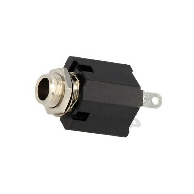 ACJM-MVS-2 Socket Jack 635mm female straight for panel mounting THT
