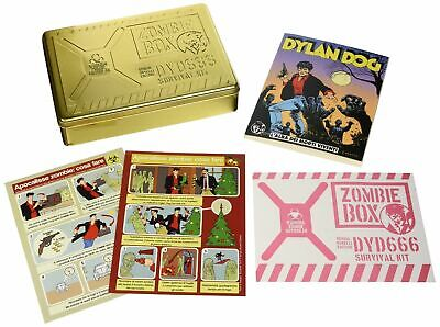 Dylan Dog Zombie Box - Survival kit gold limited edition - Esaurito -
