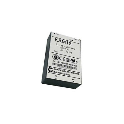 AC15W85-265/24 Converter AC/DC 15W Uin90÷265V Uout24VDC Iout0.625A KAM1524