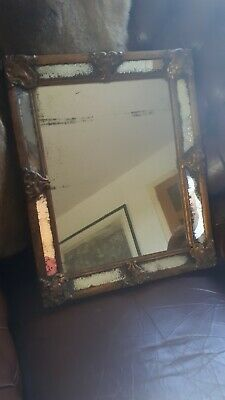 Late 19th Century Gilt Framed Mirror With Period Glass