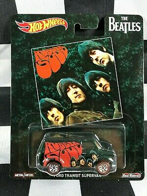 HOT WHEELS Pop Culture THE BEATLES Ford Transit Supervan REAL RIDERS