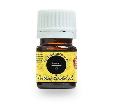 100% Pure Aniseed Natural Essential Oil 5 Ml To 100 Ml From India