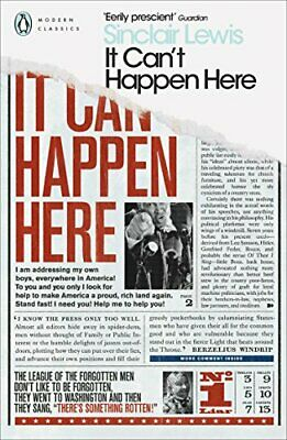 It Can't Happen Here Penguin Modern Cl by Sinclair Lewis New Paperback Book