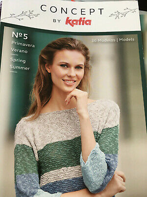 Knitting Pattern books from KATIA for Spring & Summer, new & back issues