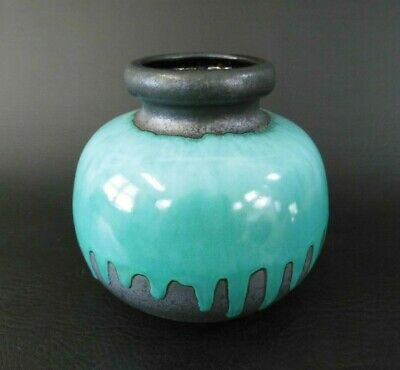 Scheurich Vase 284-15 Design vintage 60er 60s 70er 70s west german pottery wgp