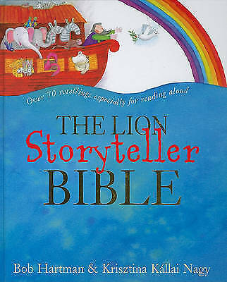 The Lion Story Teller Bible Including 4 Cd's Ex+  Bk18