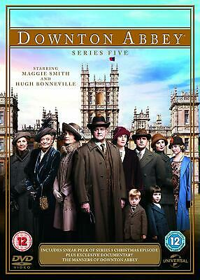 Downton Abbey - Series 5  with  Maggie Smith New (DVD  2014)