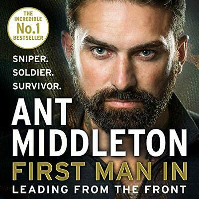 First Man In by Ant Middleton New CD-Audio Book