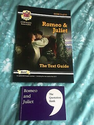 GSCE English Romeo And Juliet William Shakespeate Revision Guide And Quote Book