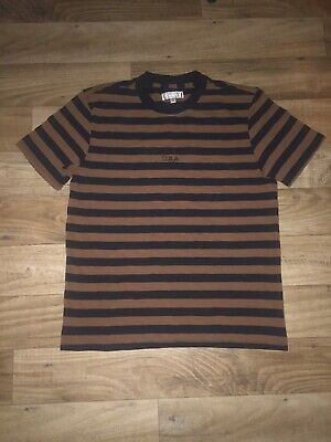 90650e6b65 1981 Guess Jeans Capsule Brown/Black Vintage Striped Shirt Menace II Society