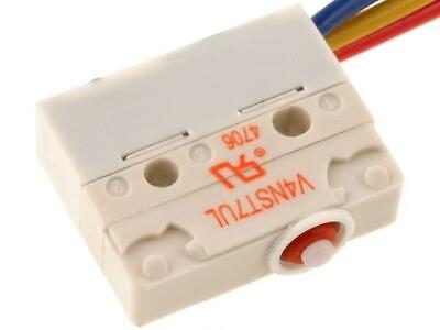 V4NSUL Microswitch without lever SPDT 5A/250VAC ON-ON 1-position SAIA-BURGESS