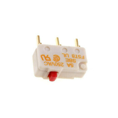 F5T8UL Microswitch without lever SPDT 5A/250VAC ON-ON 1-position SAIA-BURGESS
