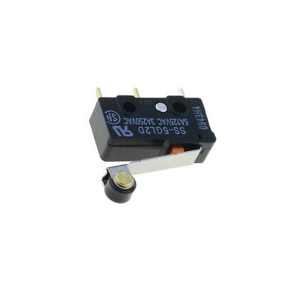 ROLLER LEVER D2F-01L2 By OMRON ELECTRONIC COMPONENTS MICROSWITCH