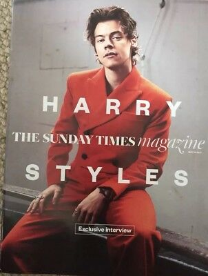 The Sunday Times Magazine Harry Styles Cover New