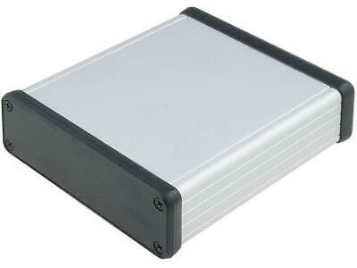 HM-1455L1202 Enclosure with panel 1455 X103mm Y120mm Z30.5mm aluminium 1455L1202