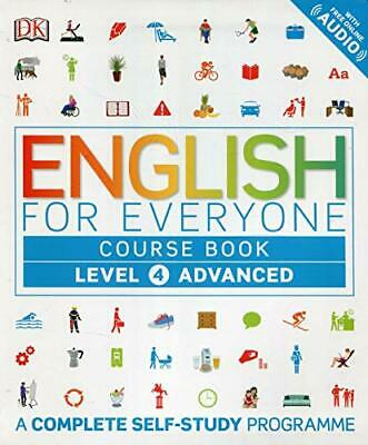 English for Everyone Course Book Level 4 Advanced New Paperback Book
