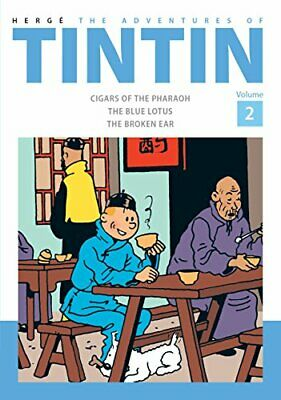 Adventures of Tintin Volume 2 by Herge New Hardback Book