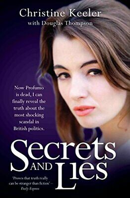 Secrets and Lies by Christine Keeler New Paperback Book
