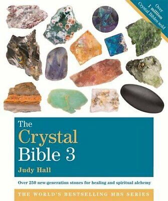 Crystal Bible  Volume 3 by Judy Hall New Paperback Book