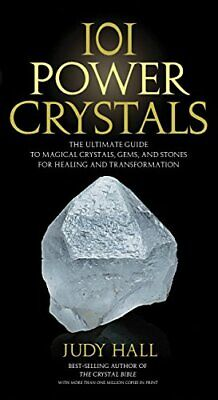 101 Power Crystals by Judy Hall New Paperback Book