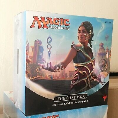 Kaladesh Gift Box 5 booster packs english factory sealed magic masterpiece MTG