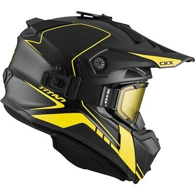 CKX Titan Winter Helmet with 210° Goggles, Atlas