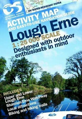 Lough Erne by Ordnance Survey of Northern Ireland New Sheet map  folded Book