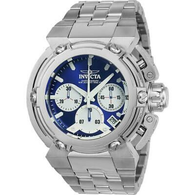 Invicta Coalition Forces 22424 Men's Blue Chronograph Stainless Steel Watch