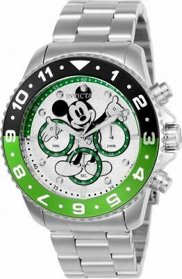 Disney Limited Edition 24953 Men's Round Analog Mickey Mouse Chronograph Watch