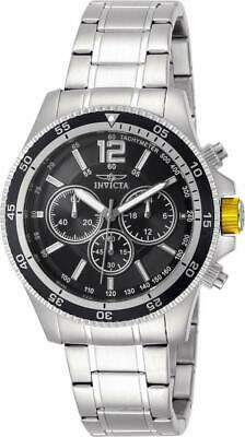 Invicta Specialty 13973 Men's Round Black Chronograph Analog Watch