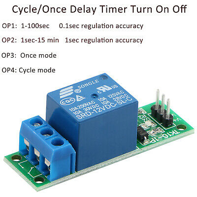 1 CHANNEL ISOLATED 12V Relay Module Coupling For Arduino PIC AVR DSP