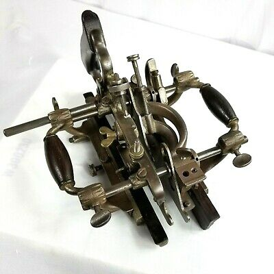 ~REDUCED~ VINTAGE STANLEY No 55 COMBINATION PLANE. STANLEY COMPLETE 52 CUTTERS