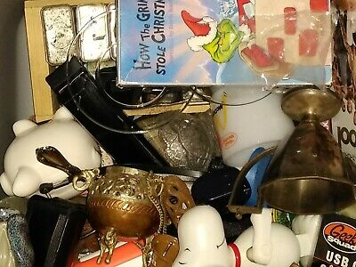 Junk Drawer Mixed Box Lots 15 Pounds Vintage New Antique Various Items