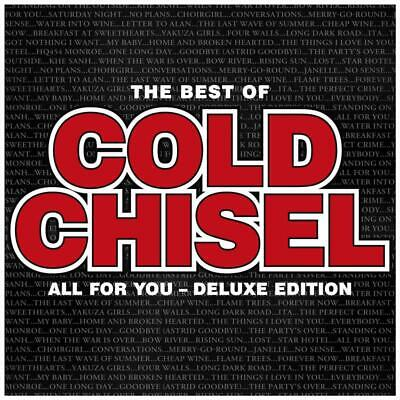 Cold Chisel - Best Of - All For You Deluxe Ed. (CD, 2018, 2 Discs) New/ Sealed