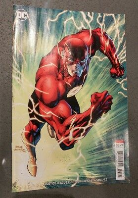 JUSTICE LEAGUE #9 JIM LEE color VARIANT cover the flash scott snyder first print
