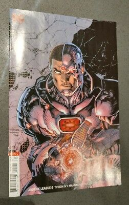 JUSTICE LEAGUE #5 JIM LEE color VARIANT cover cyborg tynion iv first print