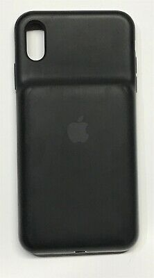 Genuine Apple - iPhone XS Max Smart Battery Case - Black