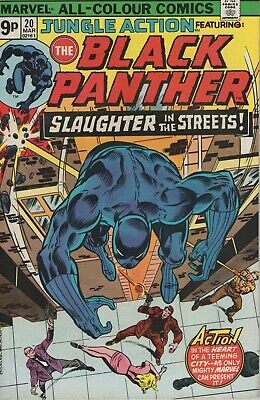 Jungle Action # 20 , Featuring The Black Panther, High Grade Copy