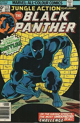 Jungle Action # 22 , Featuring The Black Panther, High Grade Copy
