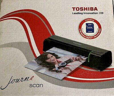 Toshiba Journe Scan In Box New (Other) Included 2gb Secure Digital Memory Card