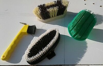 Lot de 3 brosses  et un cure pied