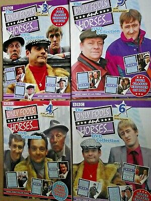 Only Fools And Horses 4 DVDs Collection With Books